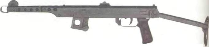 Китай: пистолет-пулемет ТИП 54 - фото, описание, характеристики, история