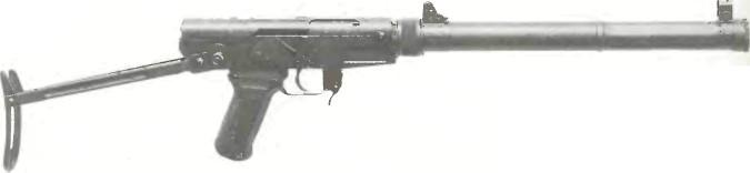 Китай: пистолет-пулемет НОРИНКО, ТИП 64/ТИП 85 (С ГЛУШИТЕЛЕМ) - фото, описание, история