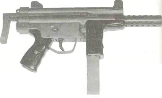 Португалия: пистолет-пулемет ИНДЕП ЛУЗА А2 - фото, описание, характеристики, история
