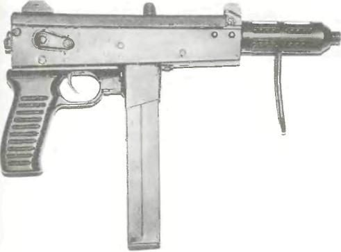 Румыния: пистолет-пулемет РАТМИЛ - фото, описание, характеристики, история