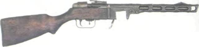 Россия: пистолет-пулемет ППШ-41 - фото, описание, характеристики, история