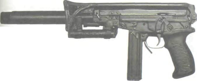 Россия: пистолет-пулемет ОЦ-02 (КИПАРИС) - фото, описание, характеристики, история