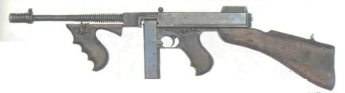 США: пистолет-пулемет ТОМПСОН М1928А1 - фото, описание, характеристики, история