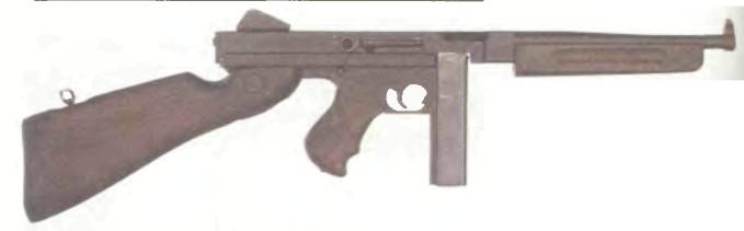 США: пистолет-пулемет ТОМПСОН М1А1 - фото, описание, характеристики, история