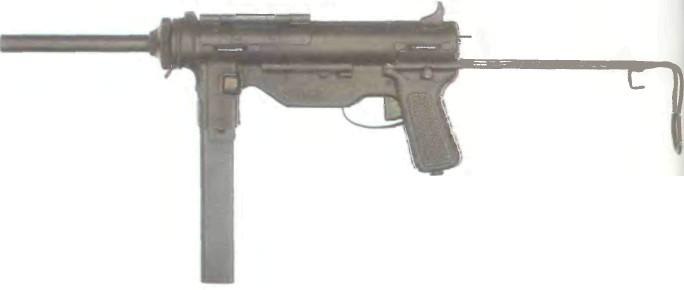 США: пистолет-пулемет МЗА1 - фото, описание, характеристики, история