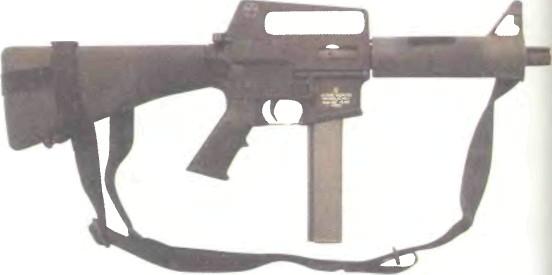 США: пистолет-пулемет ЛА ФРАНС М16К - фото, описание, характеристики, история
