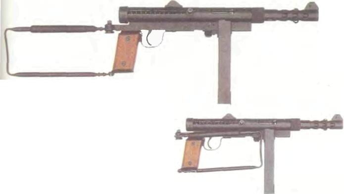 Швеция: пистолет-пулемет КАРЛ ГУСТАВ, МОДЕЛЬ 45 - фото, описание, характеристики, история