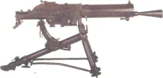 Австро-Венгрия: пулемет ШВАРЦЛОЗЕ, МОДЕЛЬ 05 - фото, описание, характеристики, история