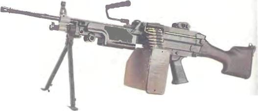 Бельгия: пулемет FN МИНИМИ - фото, описание, характеристики, история
