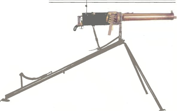 Великобритания: пулемет СИСТЕМЫ МАКСИМА - фото, описание, характеристики, история