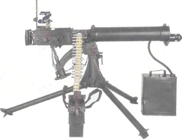 Великобритания: пулемет СТАНКОВЫЙ ВИККЕРС - фото, описание, характеристики, история