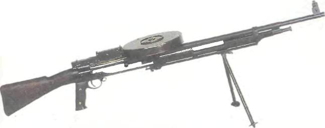 Великобритания: пулемет экспериментальный БЕРДМОР-ФЕРКАУЭР - фото, описание, характеристики, история