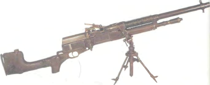 Великобритания: пулемет ГОЧКИС МК1 - фото, описание, характеристики, история