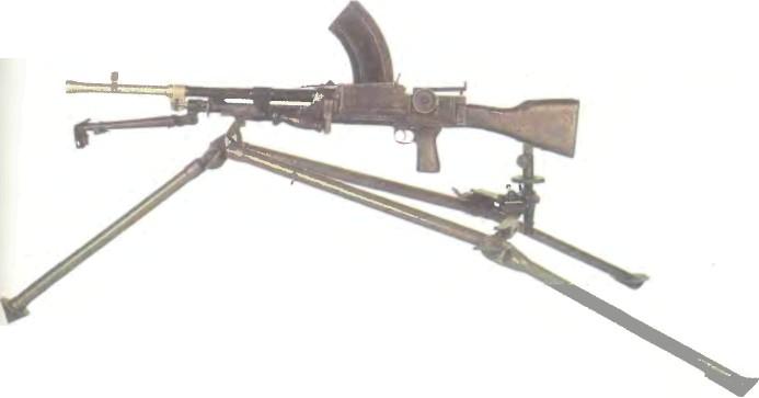 Великобритания: пулемет БРЕН - фото, описание, характеристики, история
