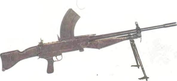 Великобритания: пулемет БИСАЛ МК 2 - фото, описание, характеристики, история