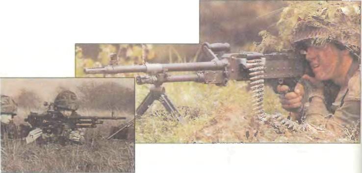 Великобритания/Бельгия: пулеметы ЕДИНЫЕ GPMG L7A1 И L7A2 - фото, описание, характеристики, история
