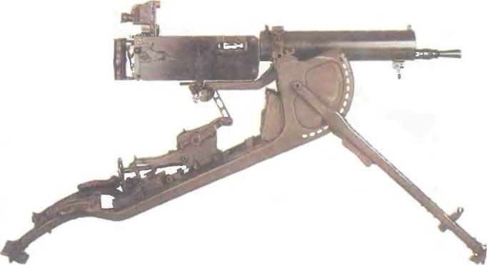 Германия: пулемет МАКСИМ MG 08 - фото, описание, характеристики, история