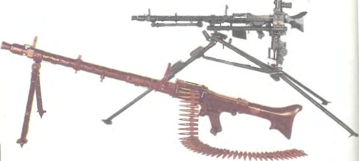 Германия: пулемет ЕДИНЫЙ MG 34 - фото, описание, характеристики, история