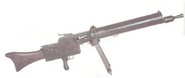 Германия: пулемет РУЧНОЙ МАКСИМ MG 08/15 - фото, описание, характеристики, история