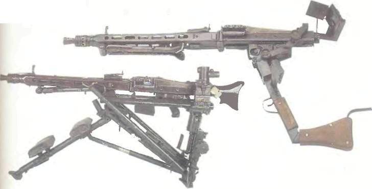 Германия: пулемет ЕДИНЫЙ MG 42 - фото, описание, характеристики, история