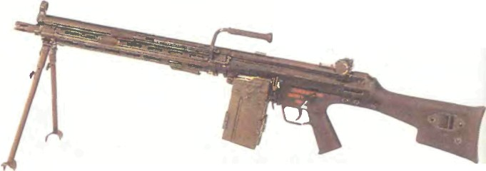 Германия: пулемет ХЕКЛЕР И КОХ НК11 - фото, описание, характеристики, история