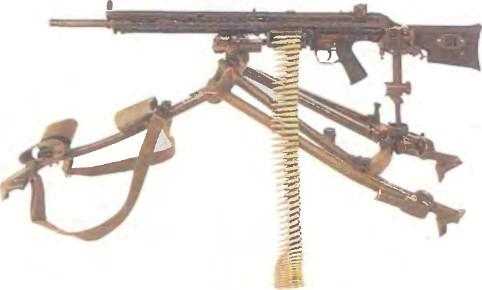 Германия: пулемет ХЕКЛЕР И КОХ НК21 - фото, описание, характеристики, история