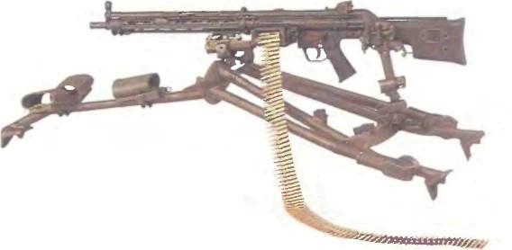 Германия: пулемет ХЕКЛЕР И КОХ НК23 - фото, описание, характеристики, история