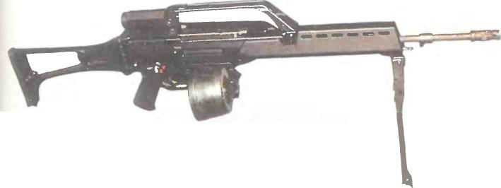 Германия: пулемет ХЕКЛЕР И КОХ G36 - фото, описание, характеристики, история