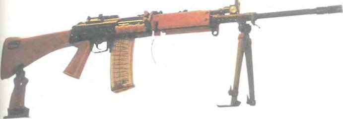 Индия: пулемет РУЧНОЙ INSAS - фото, описание, характеристики, история
