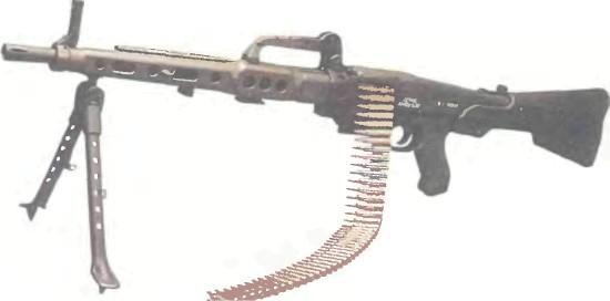 Испания: пулемет САНТА-БАРБАРА АМЕЛИ - фото, описание, характеристики, история