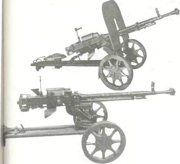 СССР: пулемет ДЕГТЯРЕВА-ШПАГИНА ОБР. 1938г. (ДШК) - фото, описание, характеристики, история
