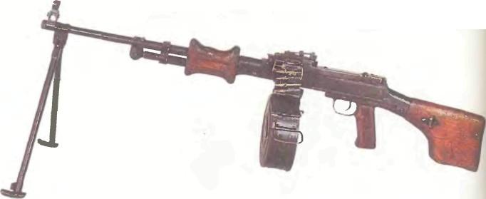 СССР: пулемет РУЧНОЙ ДЕПЯРЕВА (РПД) - фото, описание, характеристики, история
