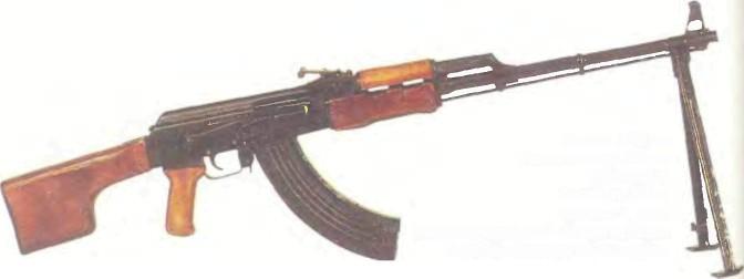 СССР: пулемет РУЧНОЙ КАЛАШНИКОВА (РПК) - фото, описание, характеристики, история