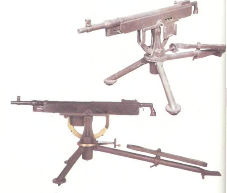 США: пулемет КОЛЬТ-БРАУНИНГ, МОДЕЛИ 1895/1904/1917 - фото, описание, характеристики, история