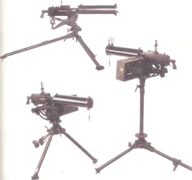 США: пулемет БРАУНИНГ, МОДЕЛЬ 1917 - фото, описание, характеристики, история