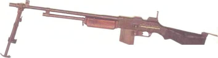 США: пулемет АВТОМАТИЧЕСКАЯ ВИНТОВКА БРАУНИНГ 1918А2 (BAR) - фото, описание, характеристики, история
