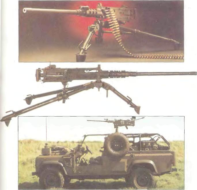 США: пулемет БРАУНИНГ М2НВ - фото, описание, характеристики, история