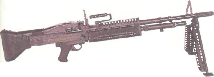 США: пулемет М60 - фото, описание, характеристики, история