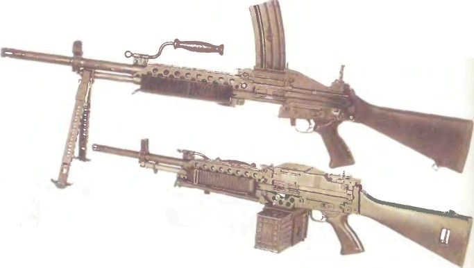 США: пулемет СТОУНЕР - фото, описание, характеристики, история