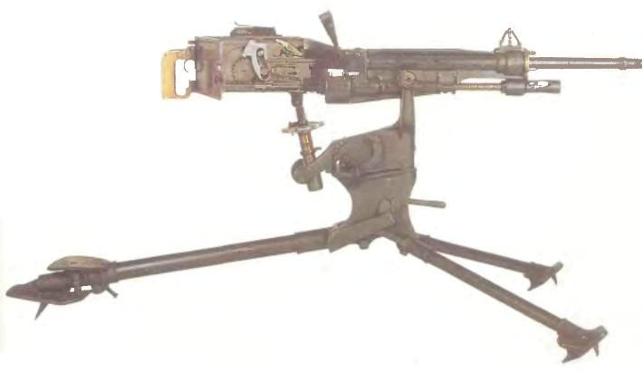 Франция: пулемет СЕНТ-ЭТЬЕН, МОДЕЛЬ 1907 - фото, описание, характеристики, история