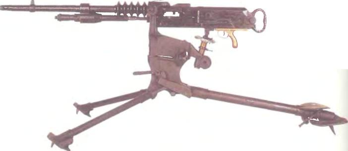 Франция: пулемет ГОЧКИС, М0ДЕЛЬ 1914 - фото, описание, характеристики, история