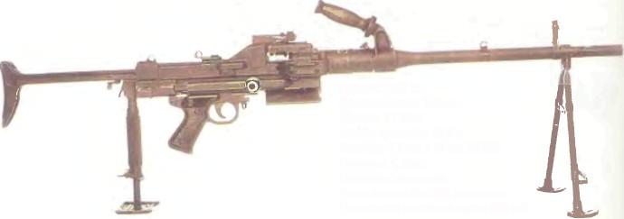 Франция: пулемет MAS АА-52 - фото, описание, характеристики, история