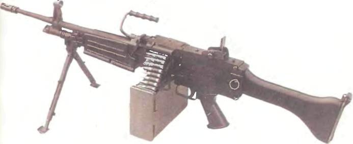 Южная Корея: пулемет РУЧНОЙ ДЭУ К3 - фото, описание, характеристики, история