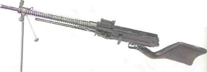 Япония: пулемет ТИП 11 (НАМБУ) - фото, описание, характеристики, история
