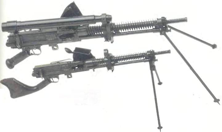 Япония: пулемет ТИП 91 - фото, описание, характеристики, история