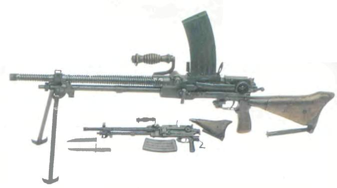 Япония: пулемет ТИП 99 - фото, описание, характеристики, история