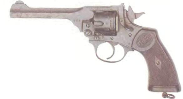 Великобритания: револьвер ВЕБЛЕИ-СКОТТ МК IV калибра .33 - фото, описание, характеристики, история