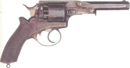 Великобритания: револьвер ДВОЙНОГО ВОСПЛАМЕНЕНИЯ - фото, описание, характеристики, история
