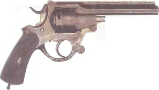 Великобритания: револьвер ПЕРЕЛАМЫВАЮЩИЙСЯ - фото, описание, характеристики, история