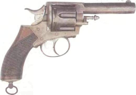 Великобритания: револьвер ВЕБЛЕЙ R.I.C. (КОПИЯ) - фото, описание, характеристики, история